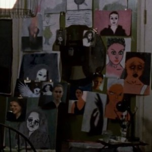 Here are some creepy paintings from Black Swan (2010).