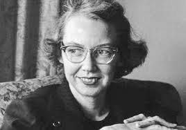 RWW introduced me to masters of the ominous and creepy, like Flannery O'Connor!
