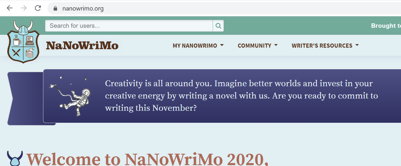 NaNoWriMo can start early with Preptober.
