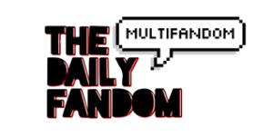 The Daily Fandom's logo is as fun as their website.