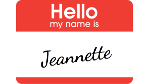 Jeannette is renamed with a human spin, rather than using her wolf name.