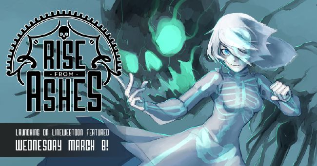 Rise from Ashes was created by Madeleine Rosca on WEBTOON.