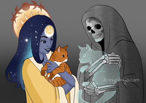 Loving Reaper was created by Jenny Jinya on WEBTOON.